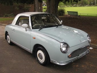 1991 Nissan Figaro - today's tempter