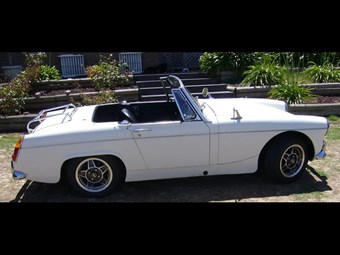 1966 Austin Healey Sprite - today's tempter