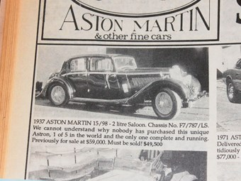 Aston Martin 15/98 & Rolls-Royce Silver Dawn - the cars that got away