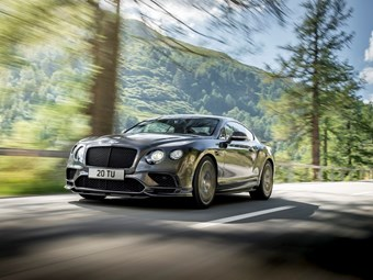 Bentley unleashes 336km/h Continental Supersports