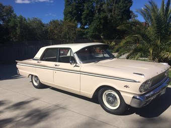 1963 Ford Fairlane Compact – today's tempter