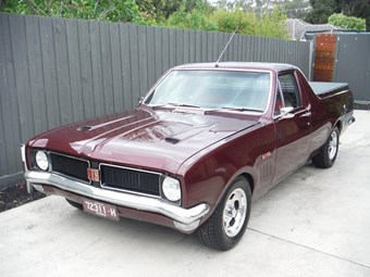 1970 HG Holden Belmont utility - today's tempter