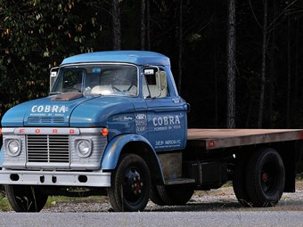 Shelby Ford transporter scores big dollars at auction