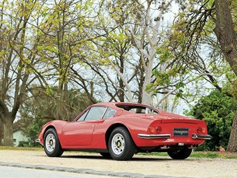 Ferrari Dino + TVR 3000M – auction action