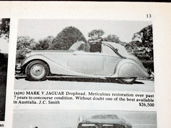 Jaguar Mk5 Drophead + Skoda 110R - the cars that got away