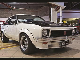 Torana A9X + Shelby Mustang + HQ Monaro feature at Lloyds