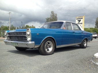 1969 Ford ZC Fairlane - auction action