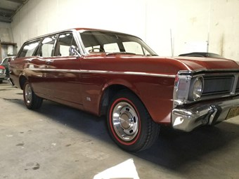 Ford Falcon XY station wagon - today's tempter