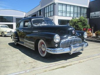 1946 Holden-assembled Buick – today's tempter
