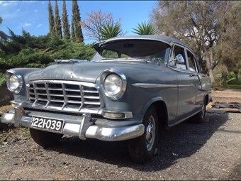 1958 Holden FC sedan - today's tempter