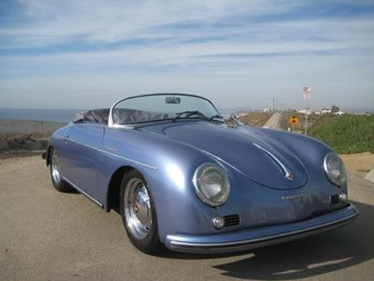 Beck Porsche Speedster replica - today's tempter