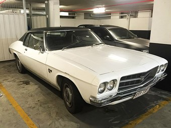 HQ Monaro project - today's tempter