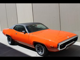 1972 Plymouth Satellite - today's tempter