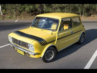 1978 Mini Clubman - today's tempter
