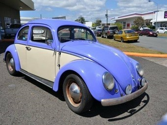 1957 Volkswagen Beetle - today's tempter