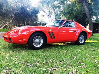 Ferrari 250 GTO replica - today's tempter