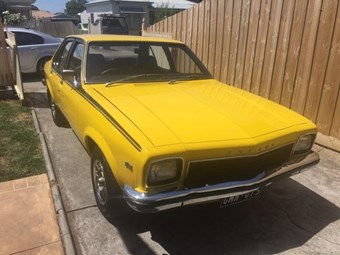 Holden LH Torana V8 - today's tempter