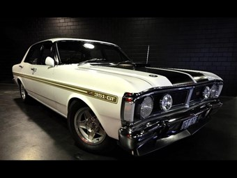 Ford Falcon XY GT - today's tempter