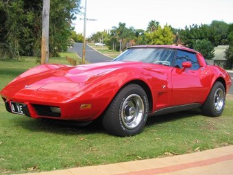 Chevrolet Corvette C3 1979 - today's tempter