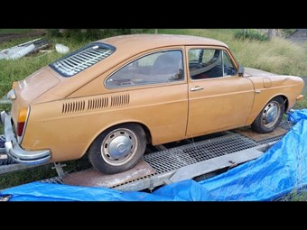 Volkswagen Type 3 fastback - today's resto tempter