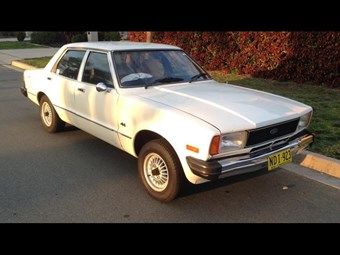 Ford Cortina TE six 1978 - today's tempter
