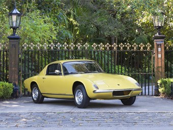 Lotus Elan Plus 2 coming up at Mossgreen