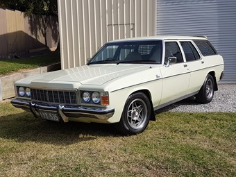 Holden Premier wagon 1977 - today's family tempter