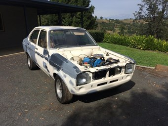 Ford Escort Mk II - today's project tempter
