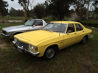 Holden HJ Kingswood - today's tempter