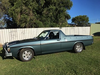 Holden WB V8 ute - today's working tempter