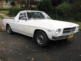 1974 Holden HQ Belmont ute - today's tempter