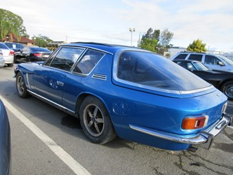On the block - Jensen Interceptor project