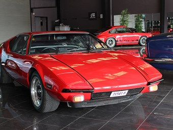 De Tomaso Pantera 1974 - today's exotic tempter