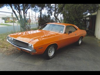 1970 Dodge Challenger - today's muscle tempter