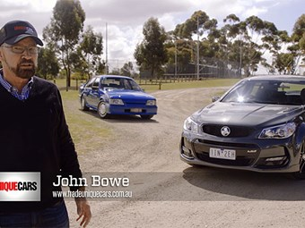 Holden's hero Commodores - John Bowe