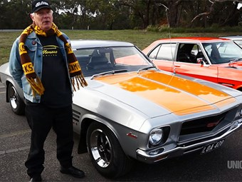 Holden HQ Monaro - Rob Hastie video