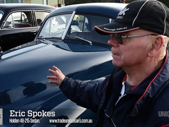 48-215 owner Eric Spokes - Holden Muster video