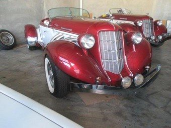 Auburn Speedster tribute - today's out-there tempter