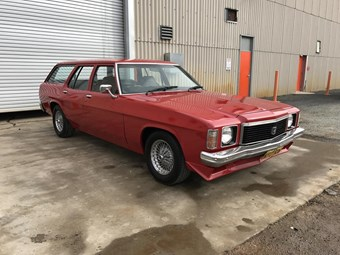 1976 Holden Kingswood wagon - today's tempter