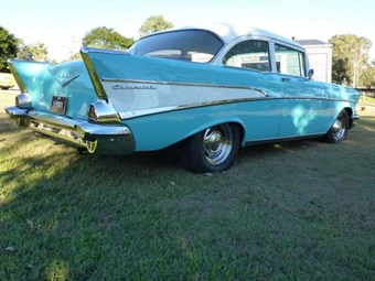 1957 Chevrolet 210 - today's tempter