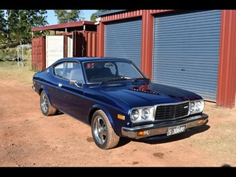 1976-77 Mazda 929 Coupe - today's tempter