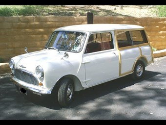 1965 Morris Mini Traveller 'woodie' wagon - today's tempter