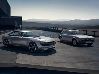 Peugeot looks to the past with E-Legend concept car