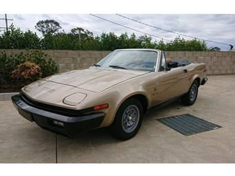 1980 Triumph TR8 Convertible – Today's Tempter