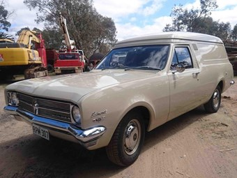 1968 Holden HK Belmont Panel Van – Today's Tempter
