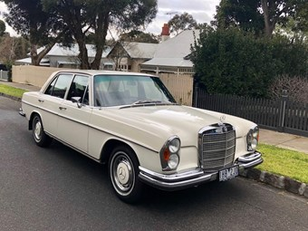 1971 Mercedes-Benz 280SE – Today's Tempter
