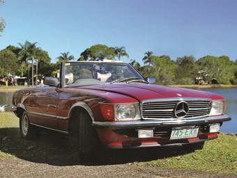 1977 Mercedes-Benz 450SL – Today's Tempter