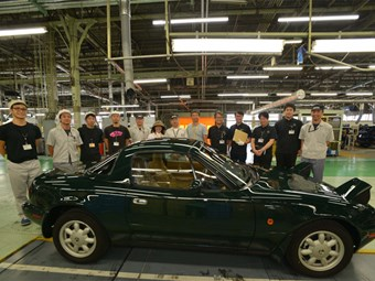 Mazda's factory MX-5 restoration program delivers first customer car