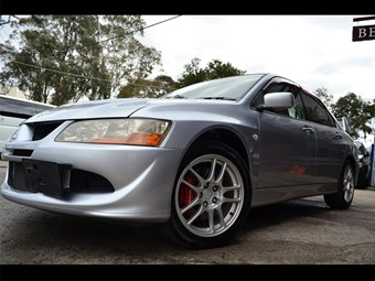 2003 Mitsubishi Evolution VIII – Today's Tempter
