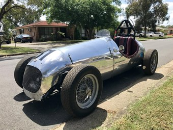 1947 MG TC Monoposto – Today's Tempter
